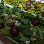 Beetroot Fetta Spinach & Pine Nut Salad Kim Neville Catering