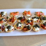 Mixed Canapes Kim Neville Catering